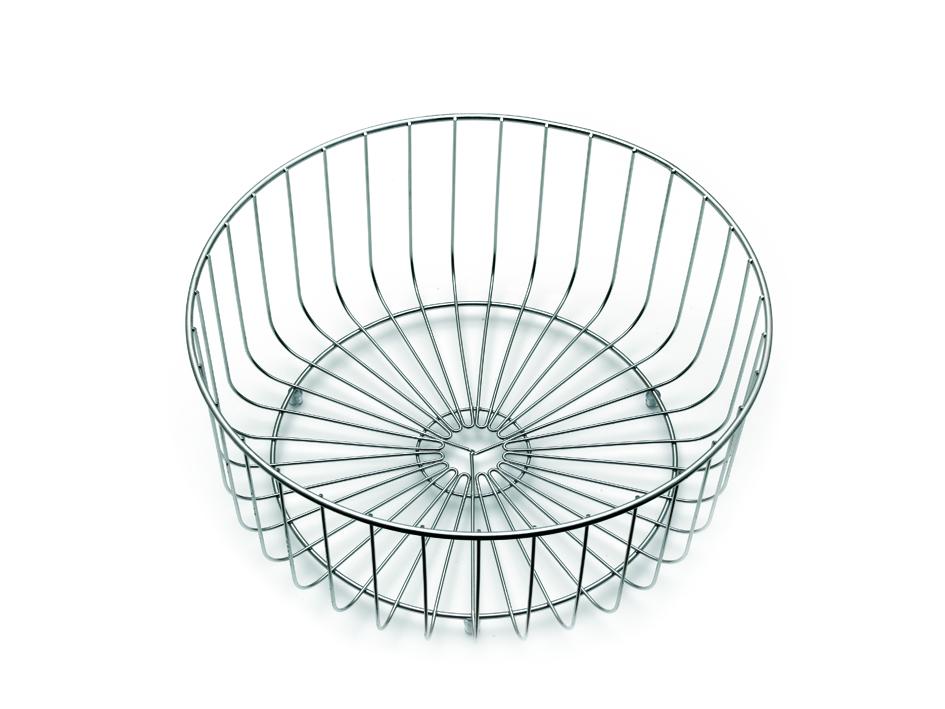 Sapphire Round Wire Basket