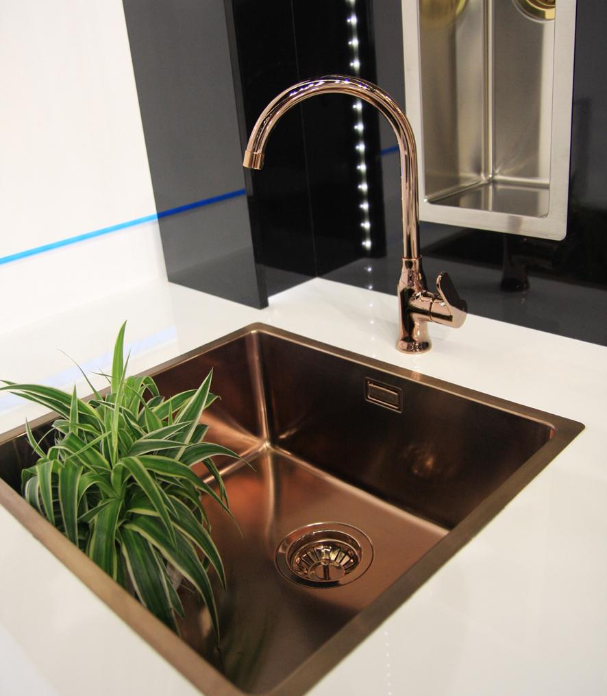 Alveus Slim Gold Tap | The Kitchen Sink, Dublin, Ireland. Quality ...